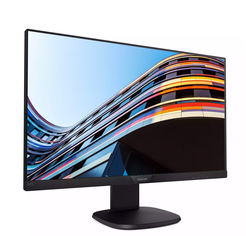 "Philips LED Monitor 243S7EHMB - 60,5 cm (23,8"") - Full-HD - höhenverstellbar, neigbar, drehbar - Lautsprecher"