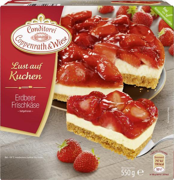 Coppenrath & Wiese - Erdbeere Frischkäse für 2€ [Kaufland]