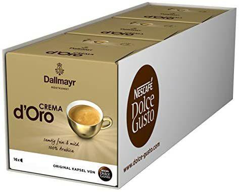 [Prime] Nescafé Dolce Gusto Dallmayr Crema d'Oro 48 Kaffeekapseln für 10.48€