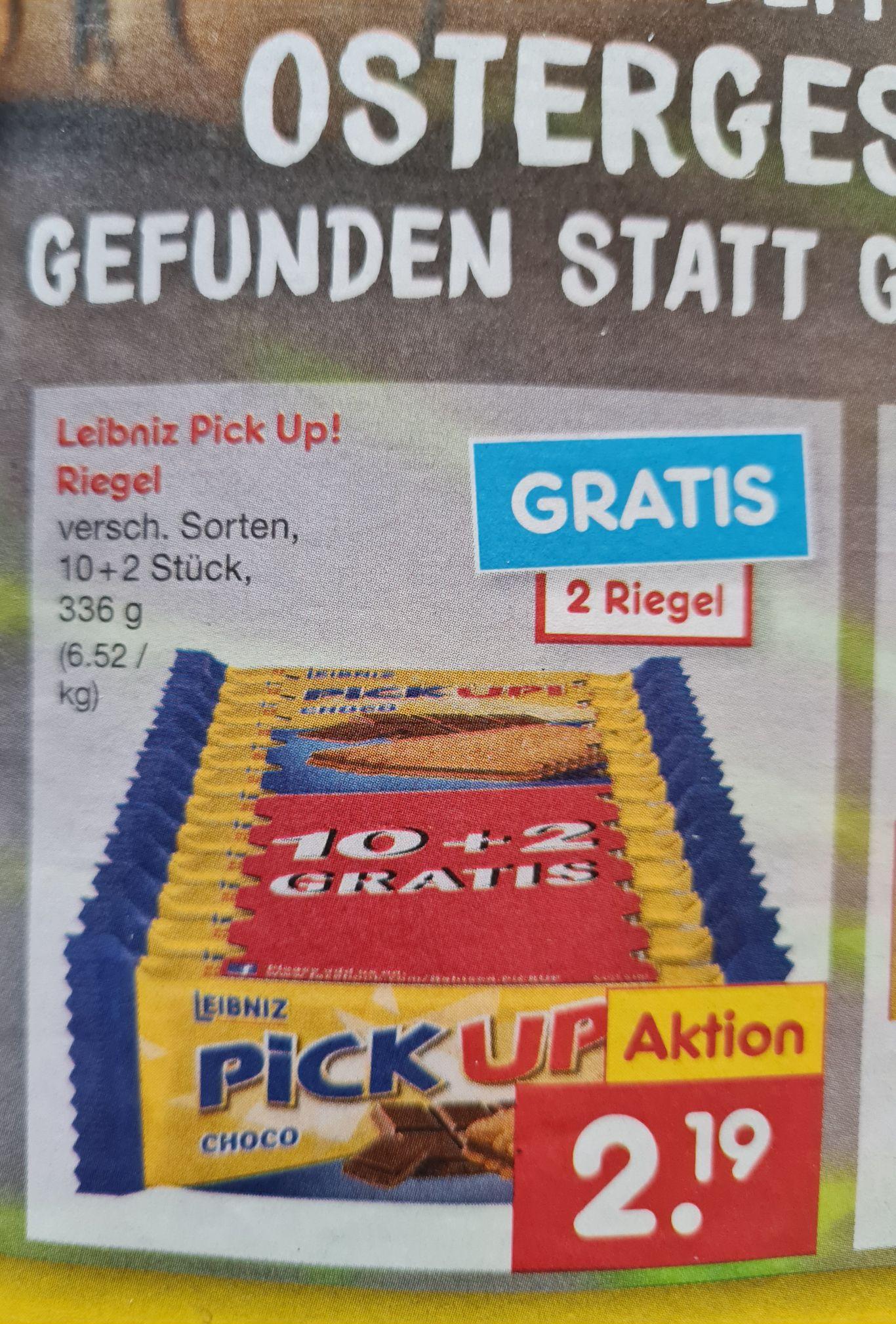 Leibniz Pick Up! 12 Stück Verschiedene Sorten Netto ab 22.03