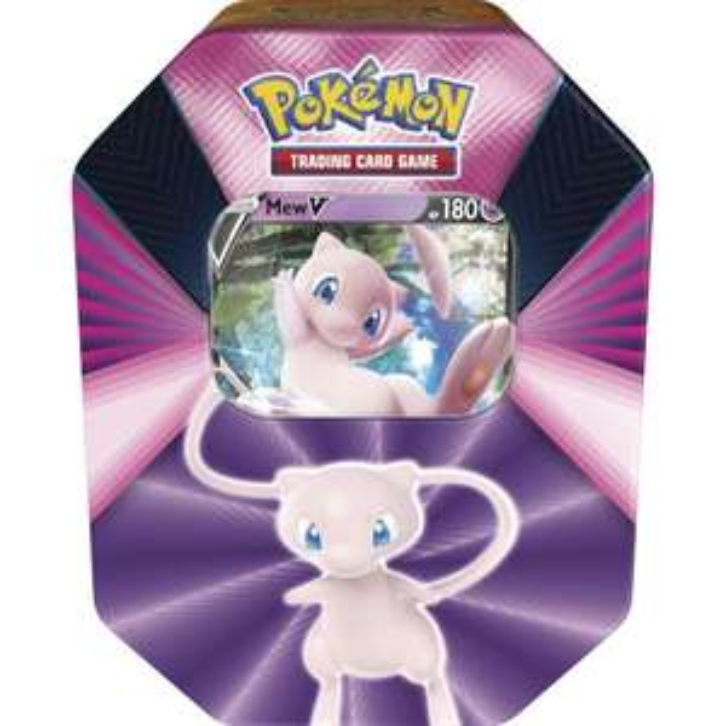 Pokémon - Tin 1 - Mew-V - Frühjahr 2021 - Sammelkartenspiel