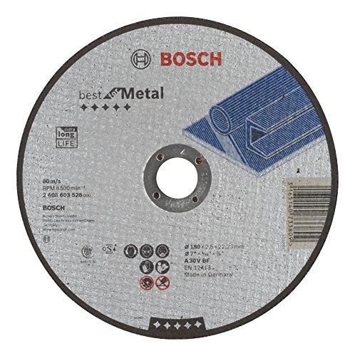 (Prime) Bosch Trennscheibe flach 180mm 2,5mm (Metall), 2608603528