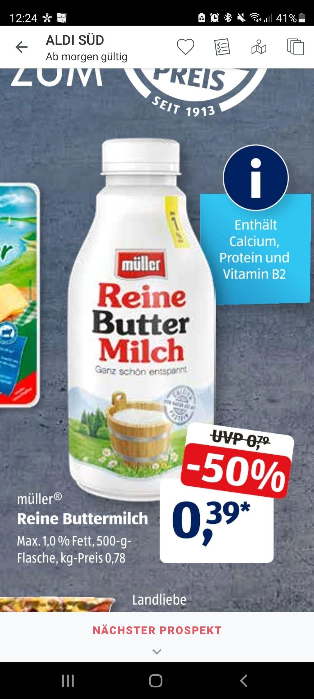 Reine Buttermilch (Müller)