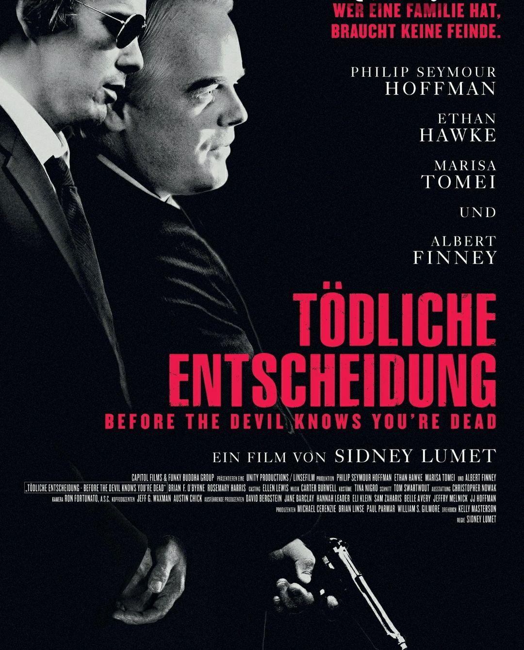 """[Servus TV Mediathek] """"Tödliche Entscheidung"""" mit Philip Seymour Hoffman, Ethan Hawke und Marisa Tomei kostenlos streamen [IMDb 7.3]"""