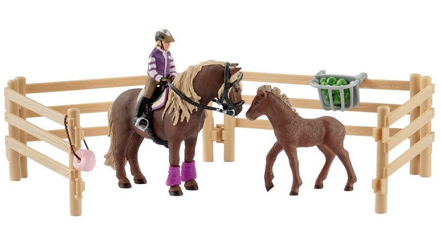 (Müller Filialabholung) Schleich Horse Club - Reiterin mit Island Ponys, auch evtl 6,99€ möglich