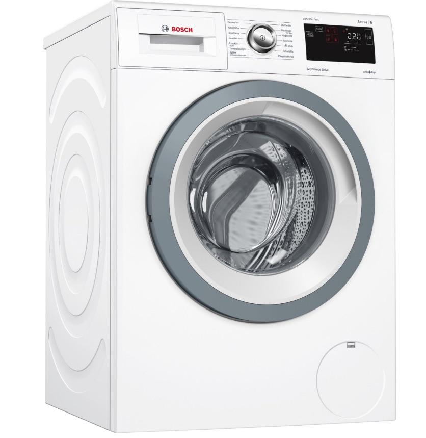 Bosch WAT285F0 Waschmaschine-Frontlader ( A+++, 8kg, 1400 U/Min, 48/72dB, 137 kWh, 9900l, Aqua Stop)