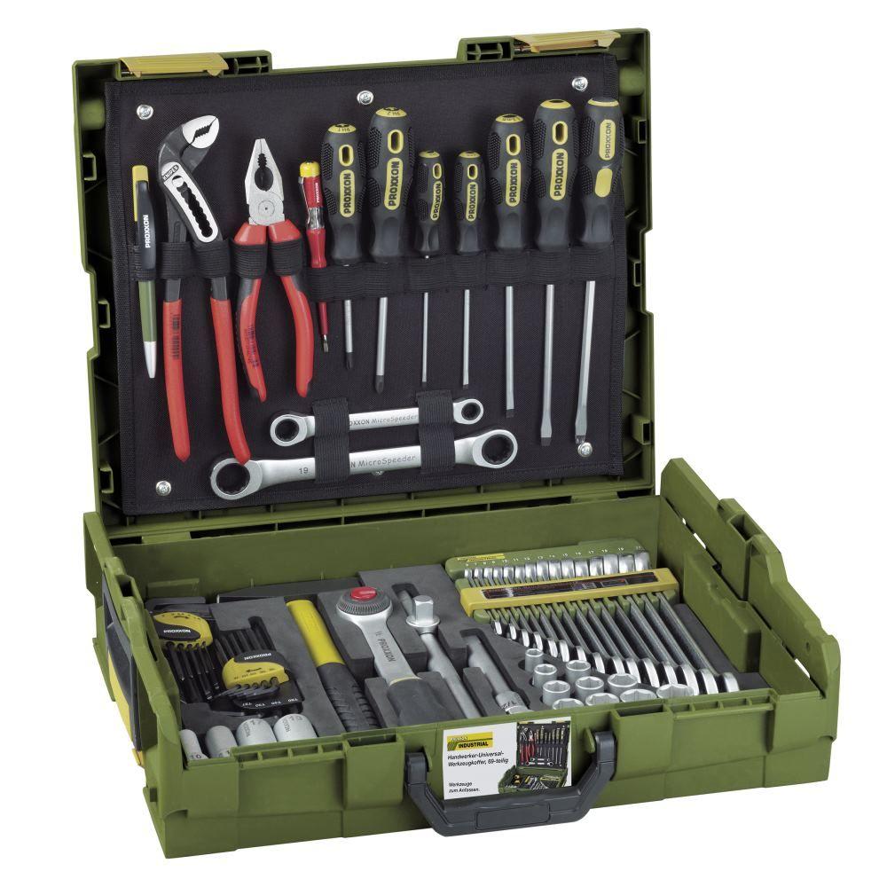 Proxxon Handwerker-Universal-Werkzeugkoffer inkl. KNIPEX in der bewährten L-BOXX