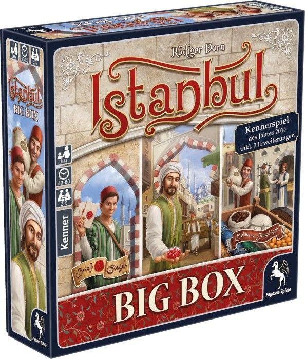 Istanbul Big Box (Kennerspiel des Jahres 2014) für 25,49€ inkl. Versand + 10fach Payback