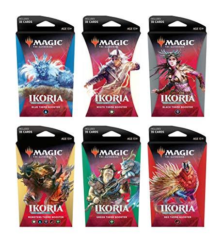[Amazon UK] Magic: The Gathering MTG Ikoria: Lair of Behemoths Theme Booster Display (12 Packs) - englisch