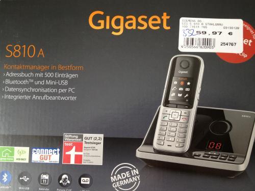 [lokal Neuötting] Gigaset S810A für 59.97€
