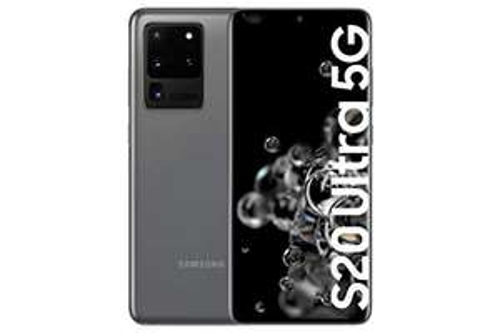 "Samsung Galaxy S20 Ultra 5G 12/128GB (6,9"" WQHD+ 120Hz AMOLED, 220g, Exynos 990, NFC, IP68, Dual-SIM, Qi, 5000mAh, 45/15W) [V&V Amazon]"