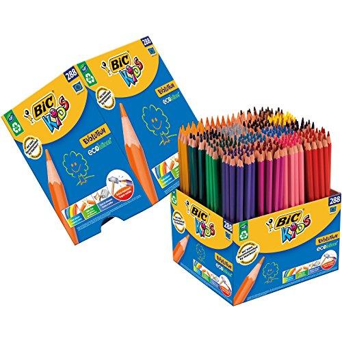 BIC KIDS 288 Buntstifte. 16 verschiedene Farben (Amazon Prime, lange Lieferzeit)