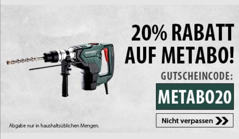 20% auf Metabo bei svh24