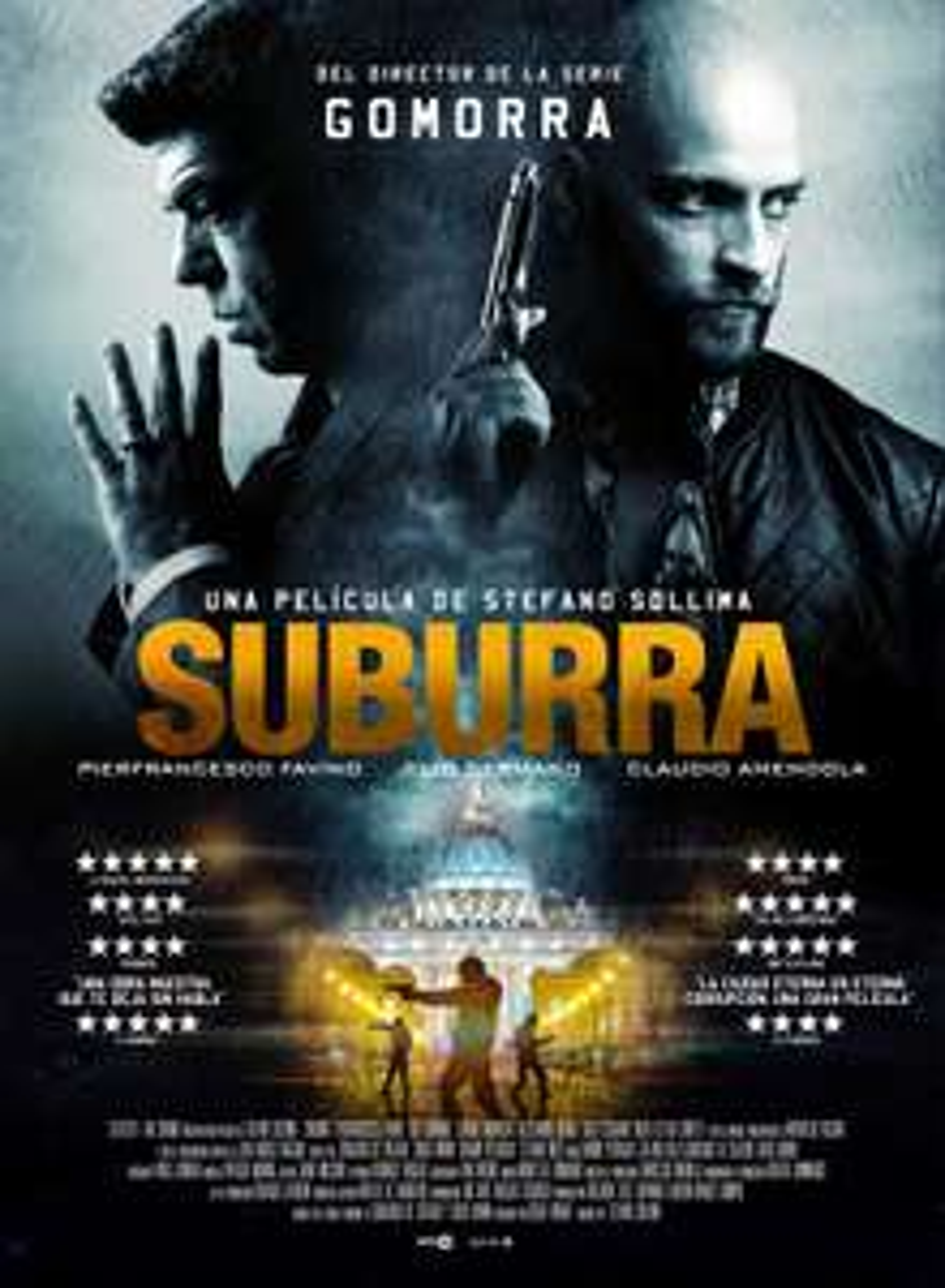 «Suburra» (IMDb 7,4 - RT 91%) kostenlos im Stream [ZDF Mediathek]