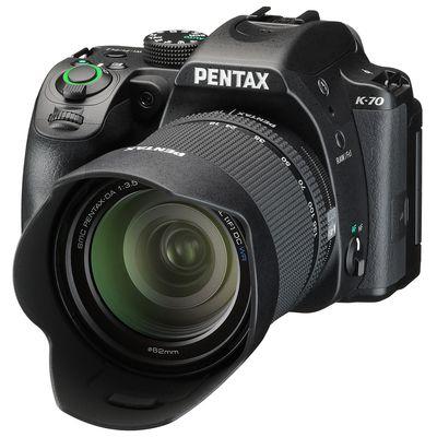 Pentax K-70 + DA 18-135mm WR + Pentax SLR-Universaltasche