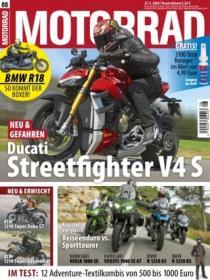 Motorrad Abo (26 Ausgaben) für 123,70 € mit 90 € BestChoice-Gutschein (Kein Werber nötig)