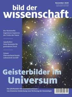 Bild der Wissenschaft (14 Ausgaben) für 114,20 mit 110 BestChoice-Gutschein/ 105 € Amazon-Gutschein