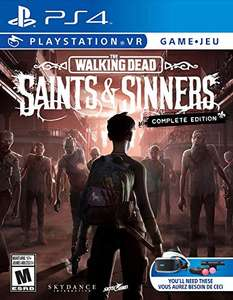 The Walking Dead: Saints & Sinners - The Complete Edition (PS4/VR) für 24,16€ (Amazon.com)