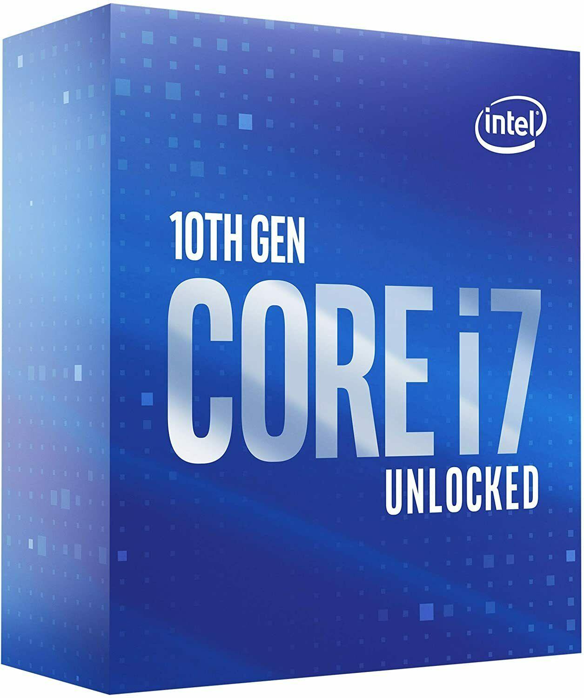 Intel Core i7- 10700K (Boxed)