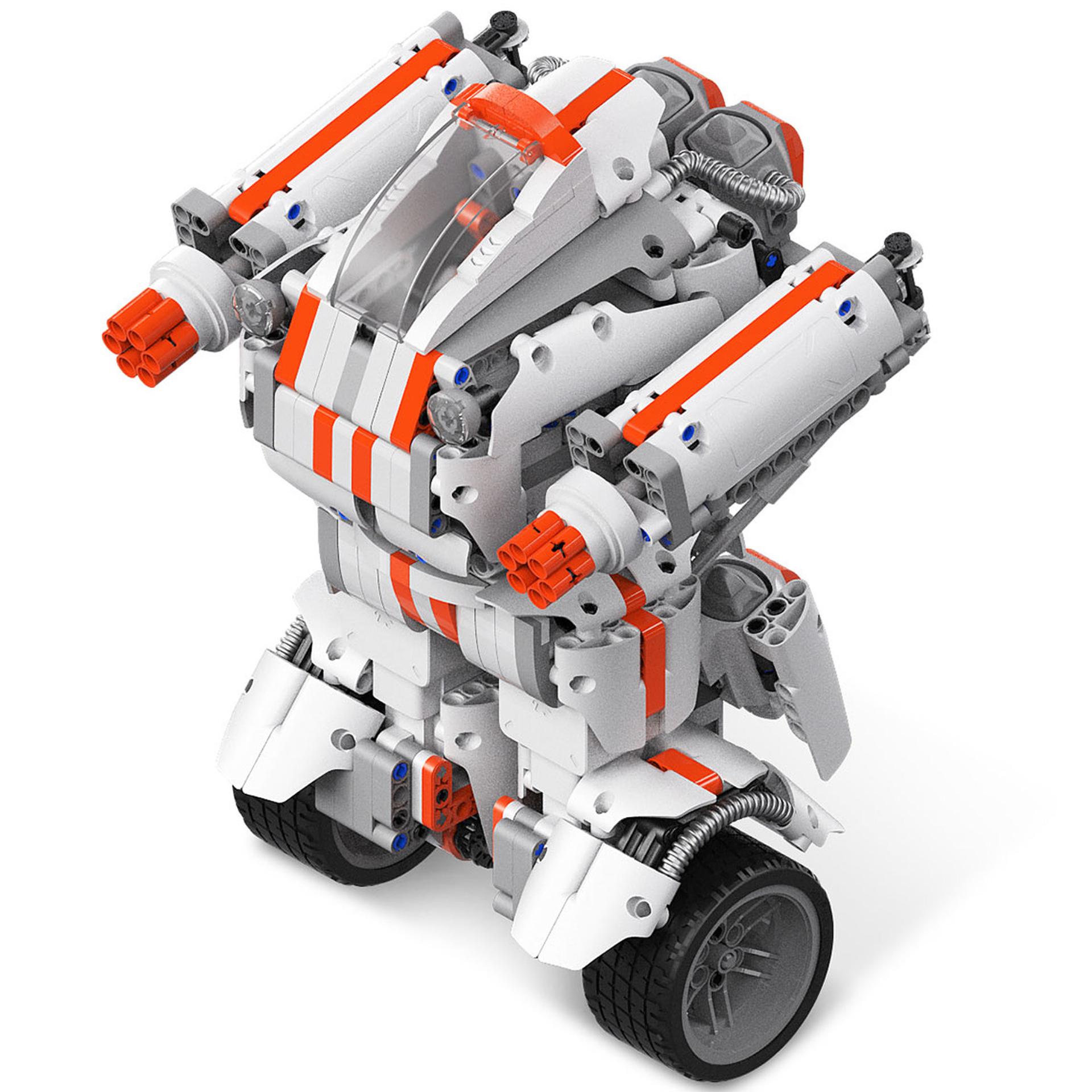 Xiaomi Mi Robot Builder: Klemmbaustein Roboter mit Motor - Versand aus EU (978 Teile, Servo Motor, App Steuerbar, Gyro-Sensor, 12h Akku)