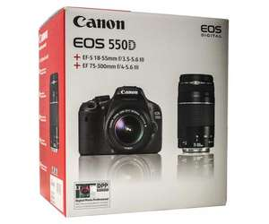 Canon EOS 550D Double Kit