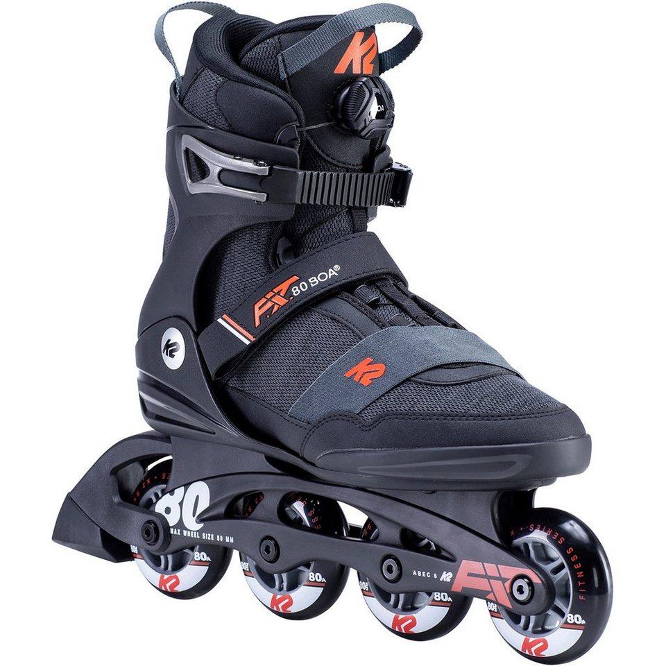 K2 Herren F.i.t. 80 Boa Inline Skates Inliner