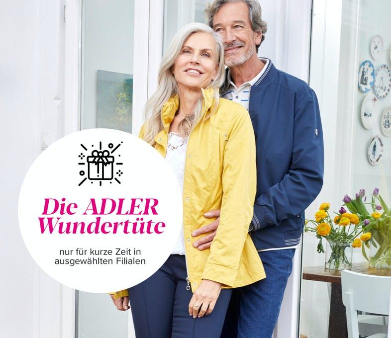 (Adler Modemärkte) Wundertüte - 5 Artikel für 20 € (Call & Collect)