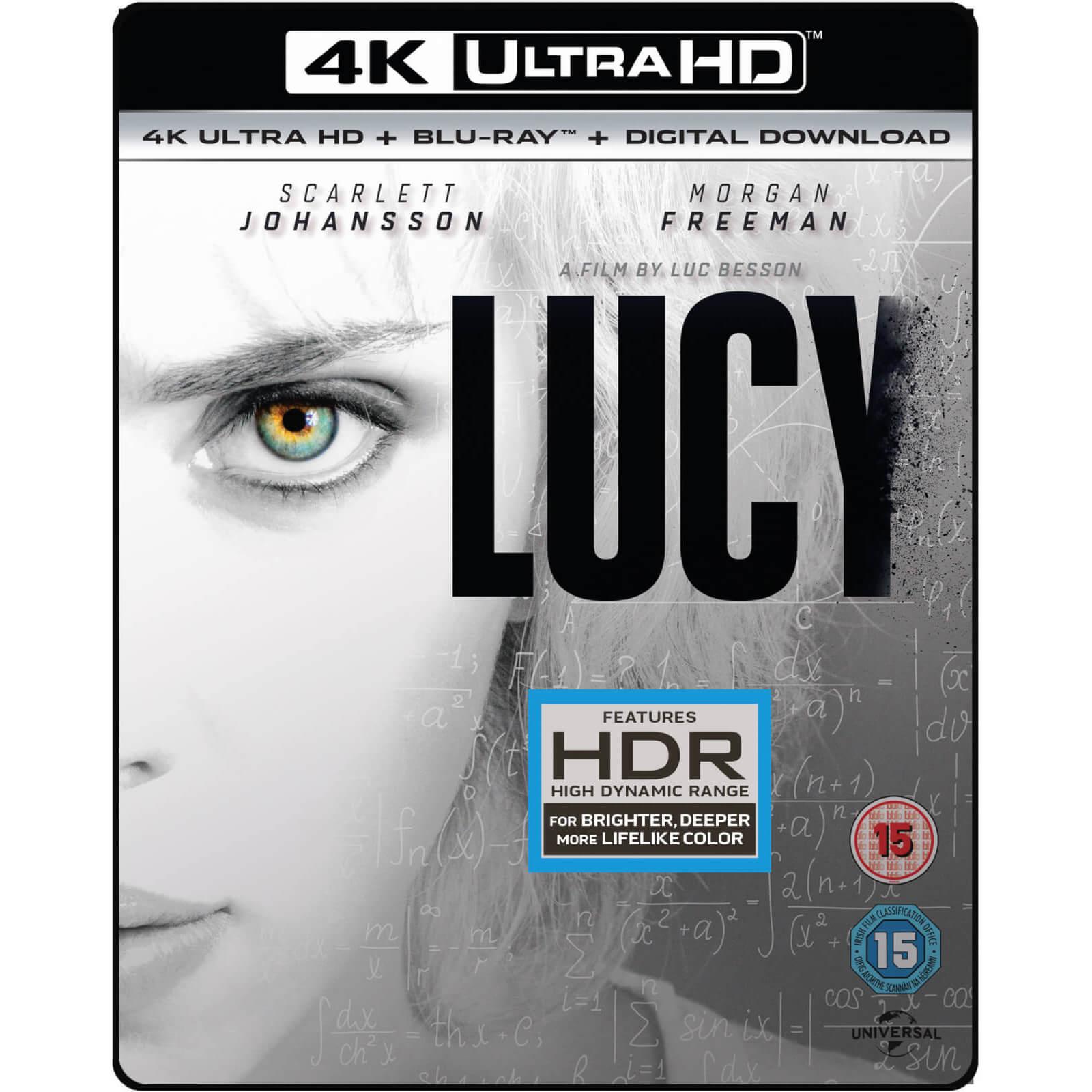 4K Blu-rays für je 10,99€ inkl. Versand - z.B. Lucy - 4K Blu-ray + Blu-ray