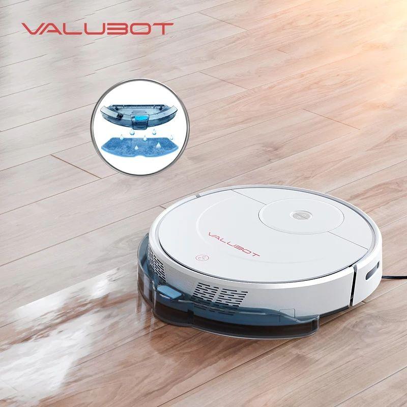 Valubot K100 Saugroboter mit Wischfunktion und Alexa aus Tschechien