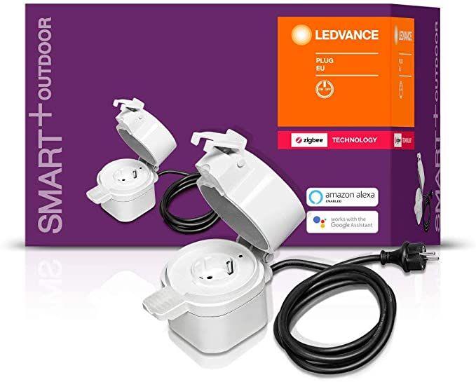 Ledvance (ehem. Osram) Zigbee Outdoor Plug Schaltbare Steckdose IP44