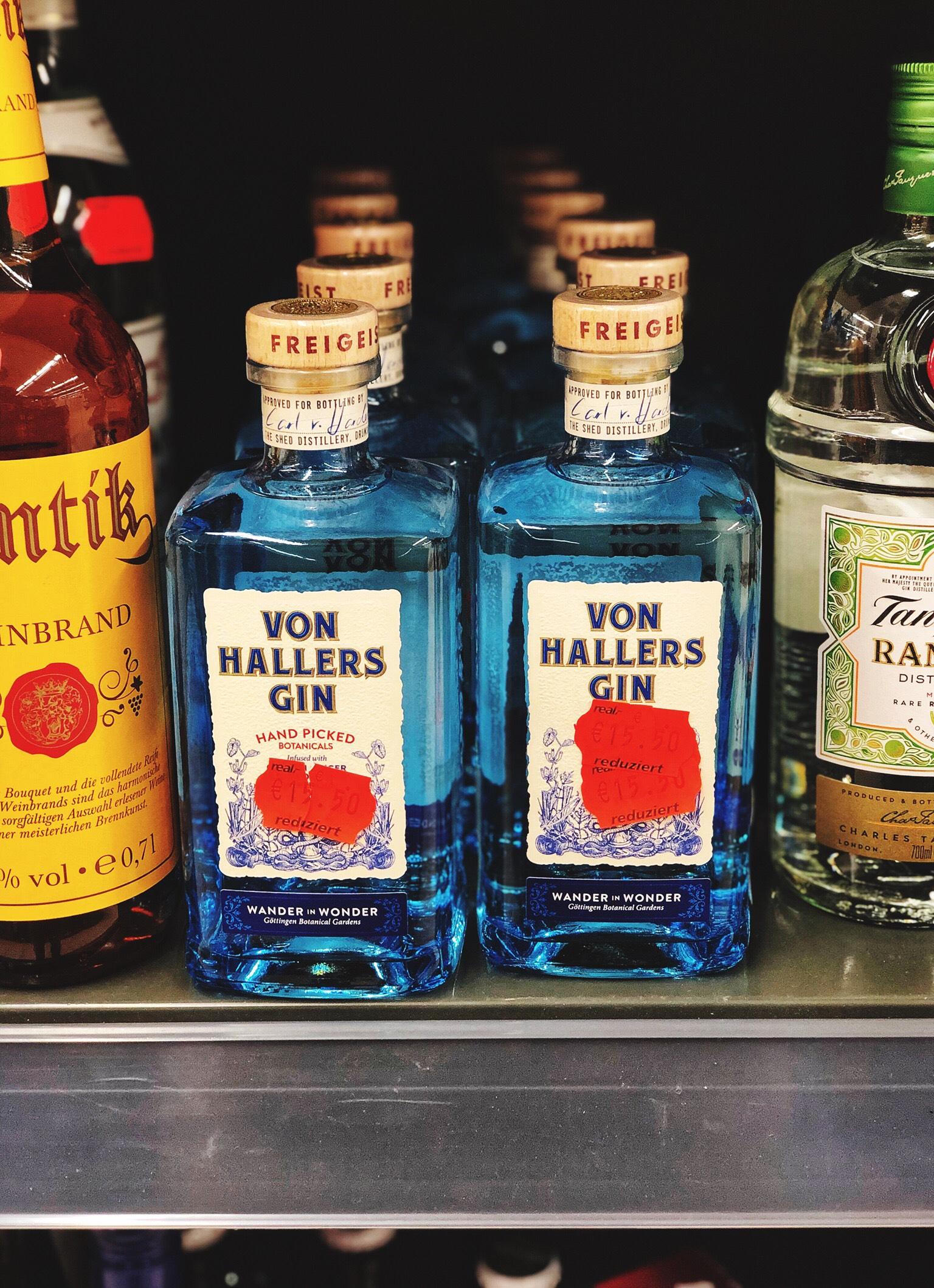 [LOKAL] Kaufland - Edingen Gewerbegebiet - Von Hallers Gin 44% (1 x 0,5l)