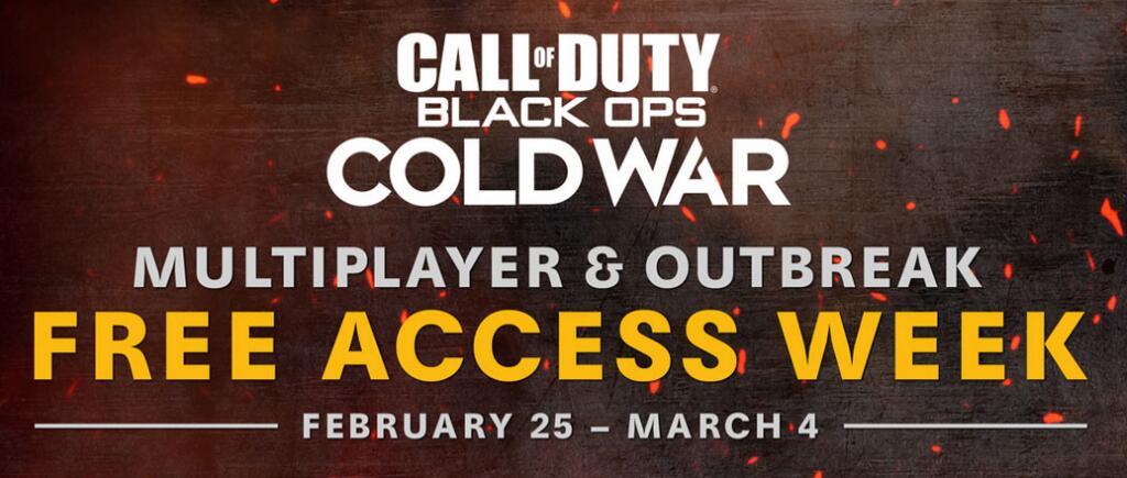 Ausbruch und Mehrspieler-Modus - Gratiswoche in Call of Duty: Black Ops Cold War (25.02 bis 04.03.2021)