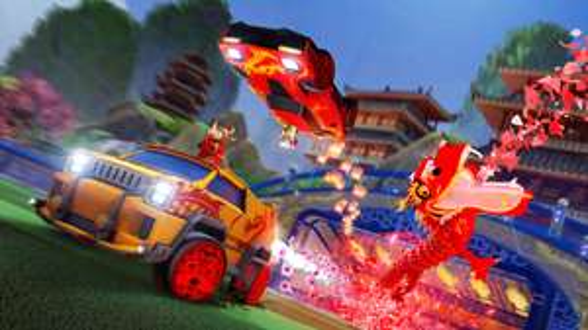 Rocket League - kostenloser Avatarrahmen 'Shen' zum Lucky Lantern Event (freebie)