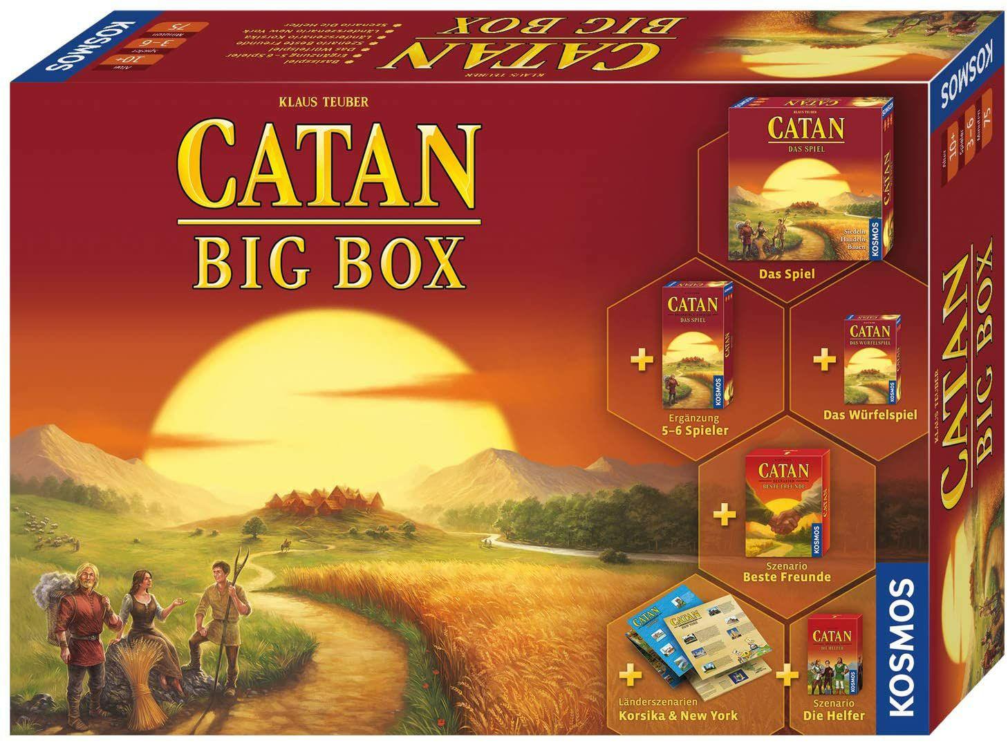 """CATAN Big Box (ehemals """"Die Siedler von Catan"""")"""