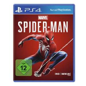 [medion-shop] Marvel's Spider-Man für Playstation 4 (Retail-Disc | Metascore 87 | User Score 8.7)