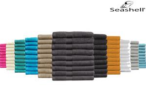 "9x Seashell Handtuch ""Hotel Collection"" (50 x 100 cm, 500 g/m², 11 Farben verfügbar) [iBOOD]"