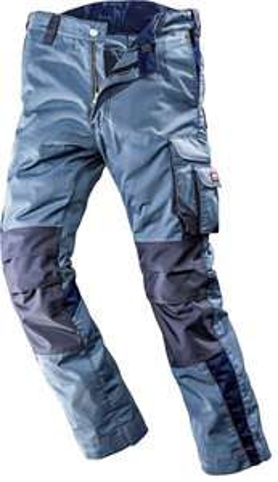 Otto online mit Versandkosten Flat : Bullstar WorXtar Arbeitsbundhose Größe 42 bis 74 grau und blau (ohne Flat für 35.94 EUR)