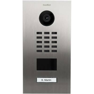 DoorBird D2101V IP-Videosprechanlage silber