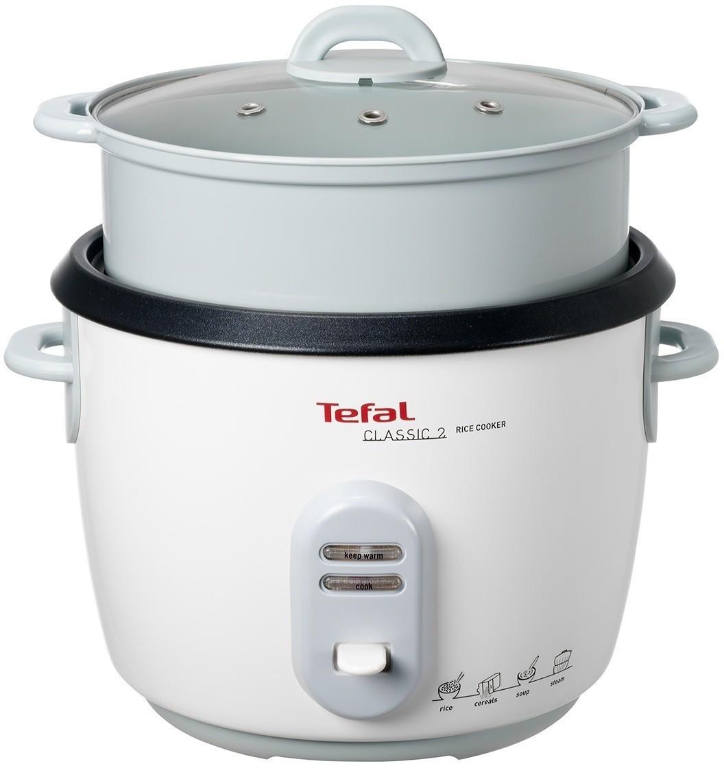 Tefal RK1011 Reiskocher mit Dampfgareinsatz (5l für ~10 Tassen, Warmhaltefunktion, 302x294x295mm)