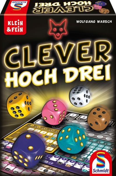 Clever hoch Drei Würfelspiel [Thalia KultClub]