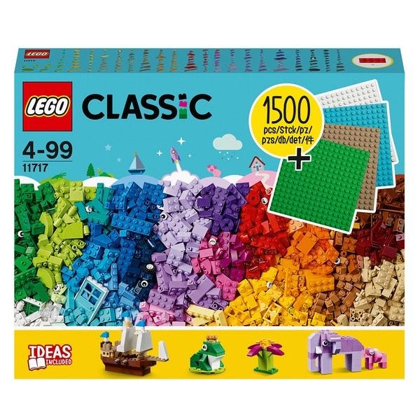 LEGO Classic 11717 Extragroße Steinebox mt Bauplatten (16x16 Plates)