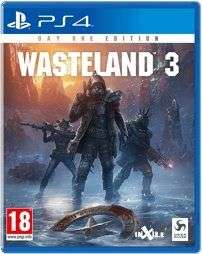 Wasteland 3Day One Edition (PS4) [Netgames]