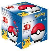 Ravensburger 11265/11266/11256 - Pokémon Pokéballs, Superball, 3D-Puzzelball (Thalia KultClub)
