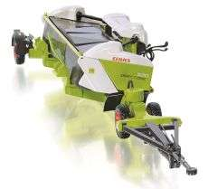 Wiking, Claas Direct Disc 520 mit Anhänger Claas Edition (77825) (Bei Abholung 35,--€)