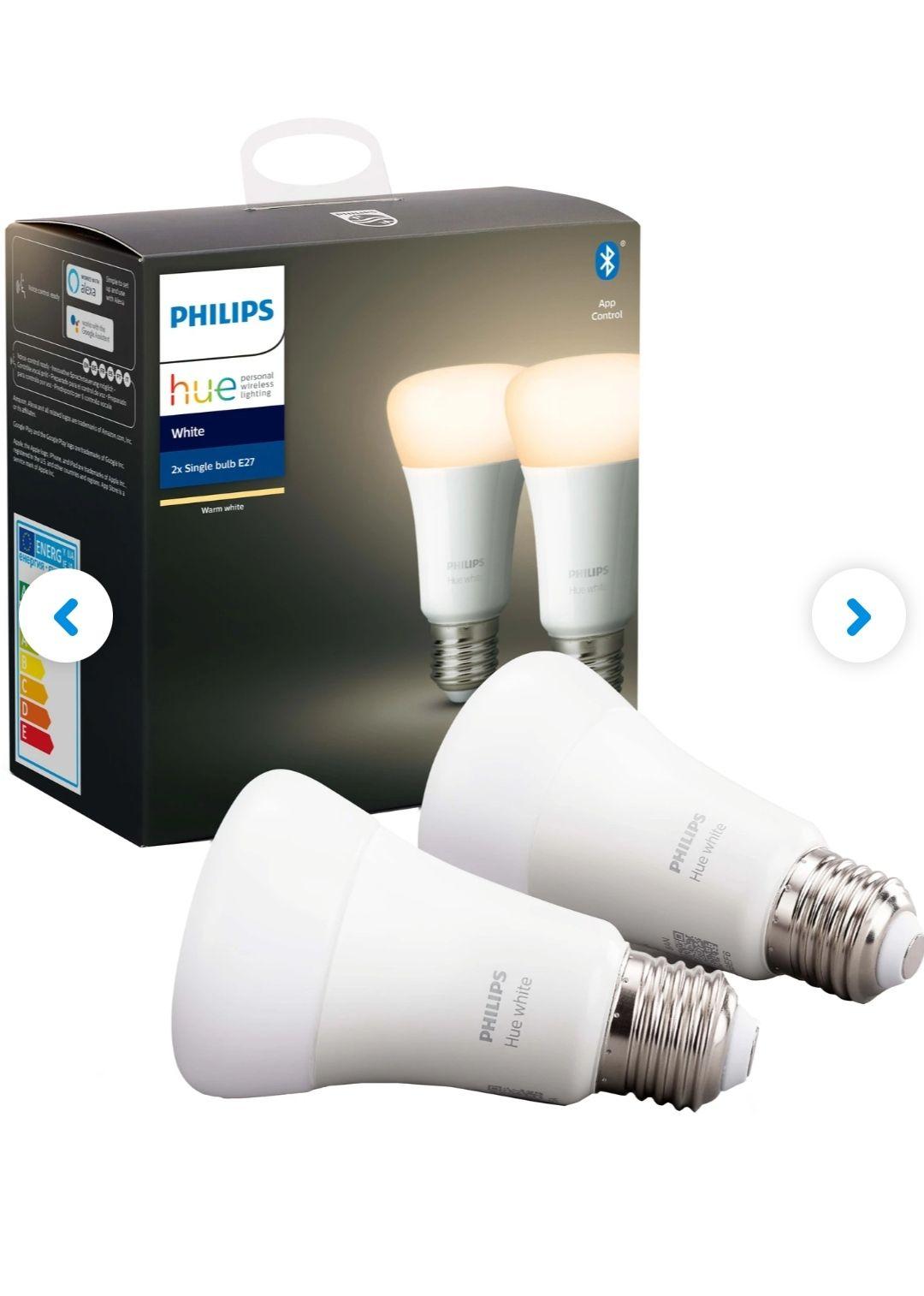 [Coolblue] 2x Philips Hue White E27 Bluetooth / weitere 5% Rabatt möglich bei Doppelkauf = 9,94€/Leuchtmittel