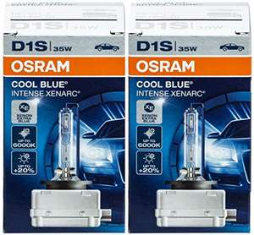 [Amazon] Osram Xenarc Cool Blue Intense D1S Xenonbrenner 66140CBI, 35W, 6000K, 2er Pack