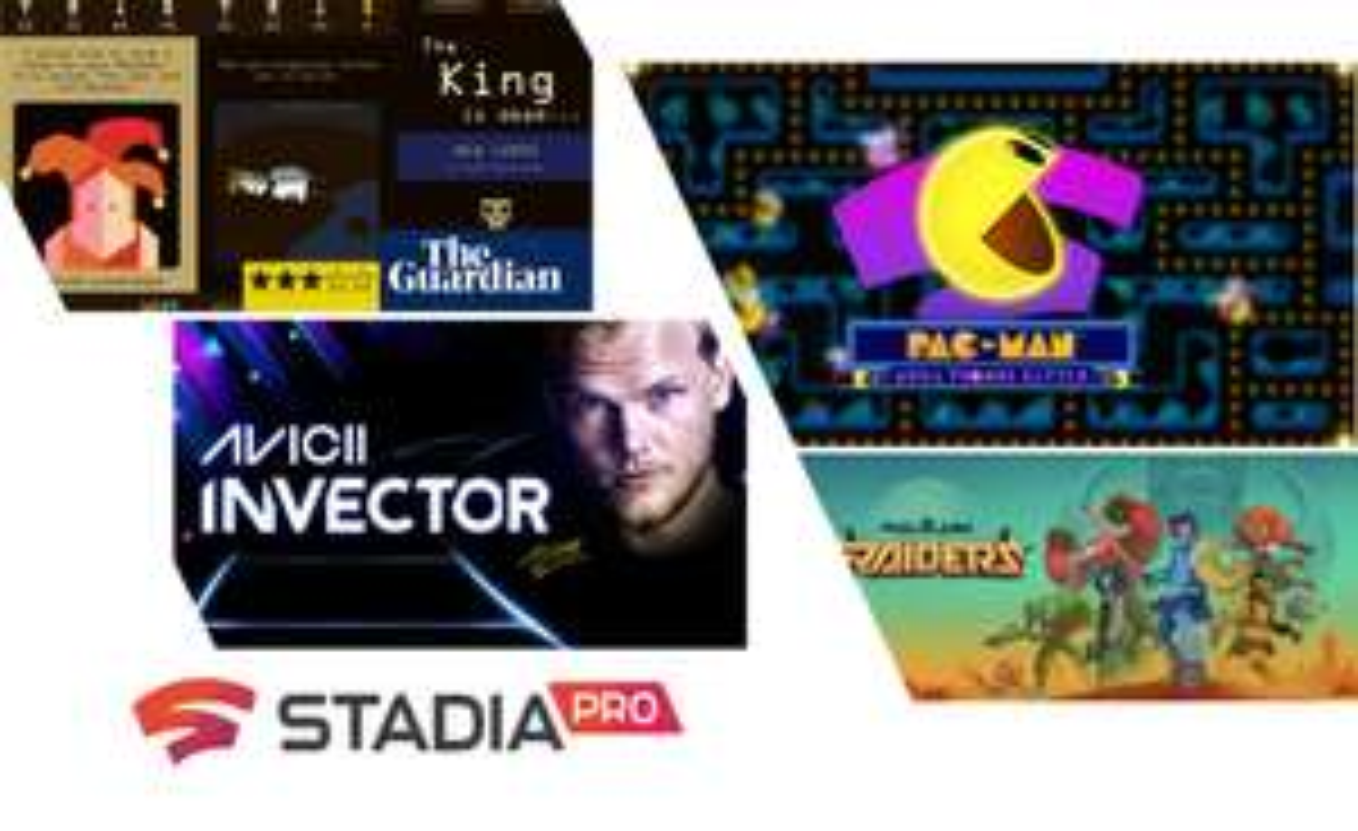 [Stadia Pro] März free Games: PixelJunk Raiders, AVICII, PAC-MAN Mega Tunnel Battle, Reigns