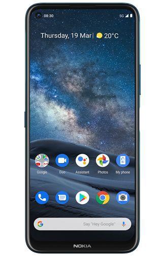 Nokia 8.3 5G Dual-SIM 64GB blau Android One