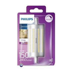 Philips LED R7S 17,5W = 150W 118mm dimmbar Stab 2460 Lumen für 9,99€ [Dealclub]