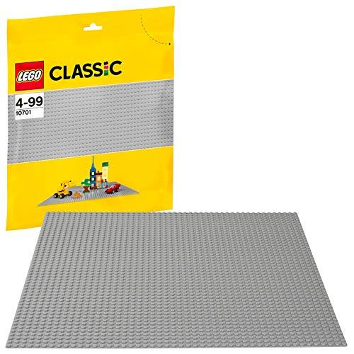 (Amazon Prime) Lego Classic 10701 Graue Bauplatte 48x48 Noppen (UVP - 37%)